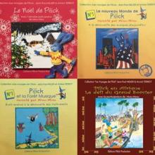Annick Terriot & Jean-Paul Millier: Collection les voyages de Pilick