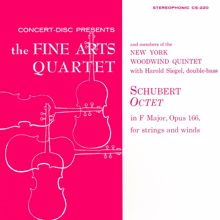 Fine Arts Quartet & Members of the New York Woodwind Quintet: Schubert: Octet in F Major, Op. 166 (Remastered from the Original Concert-Disc Master Tapes)