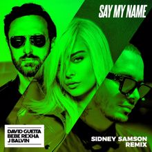 David Guetta, Bebe Rexha, J Balvin: Say My Name