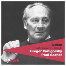 Gregor Piatigorsky, BBC Symphony Orchestra, The English Opera Group Orchestra, Sir Malcolm Sargent & Paul Sacher: Walton: Cello Concerto / Façade